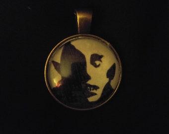 Nosferatu Face Pendant