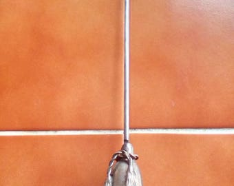 Vintage Silver Plated Candle Snubber Swivels Vertical And Horizontal