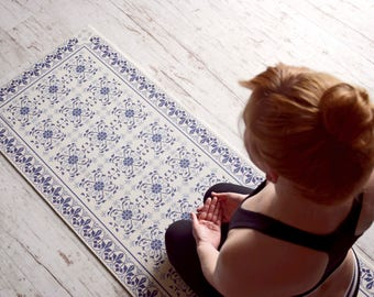Design  Yoga mat - ORIENTAL TILES