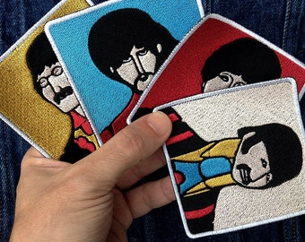 Beatles Yellow Submarine embroidered patch