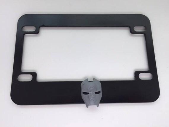 Guerrero de cara de Ironman negro con gris 3D versión