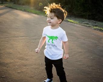 Boys Dinosaur Shirt, Dinosaur Shirt, Dino Shirt, Kids Dino Shirt, Dino Birthday Shirt, Toddler Dino Shirt, T-Rex Shirt