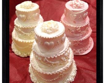 Wedding Cake Chocolate Covered Oreos - 12 Pieces
