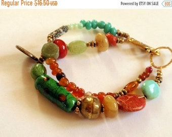 Half Price One week sale Double Strand Colorful Beaded Bracelet