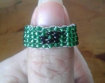 Jokers Glass Beaded Rings