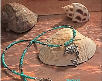 Dolphin Charm Necklace