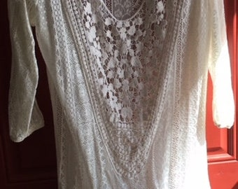 Patriotic Lace Tunic Shirt