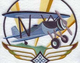 Art Deco Airplane 1