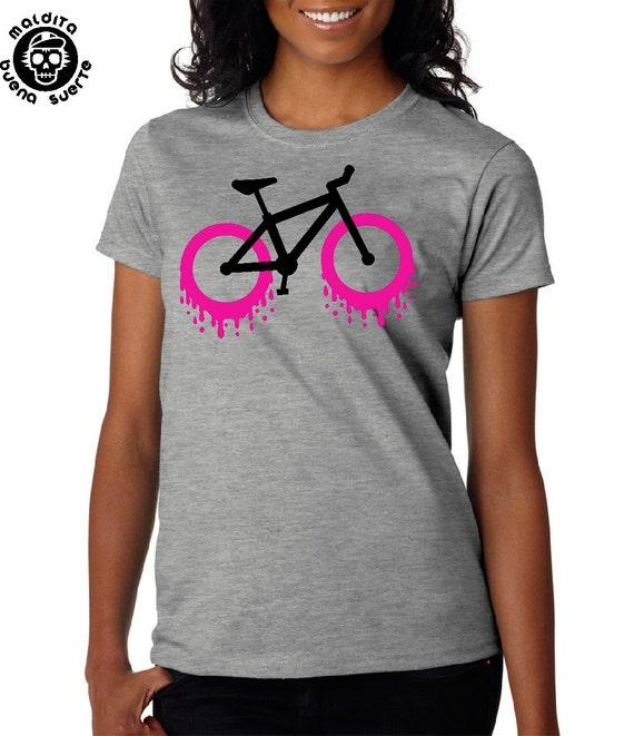 T-shirt girl MBS bike