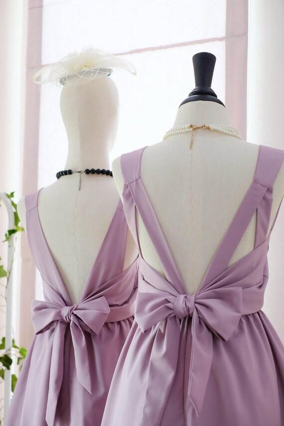 Lila rosa Kleid lila Brautjungfer Kleid Abschlussball Kleid