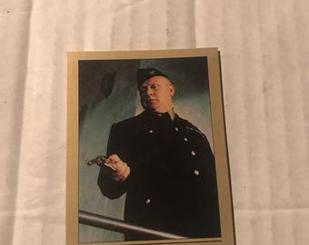 Colonel Goldfinger (trading card) 007