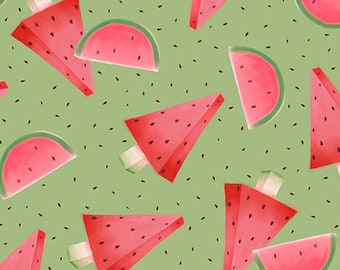Melon Drop - Watermelon - Green