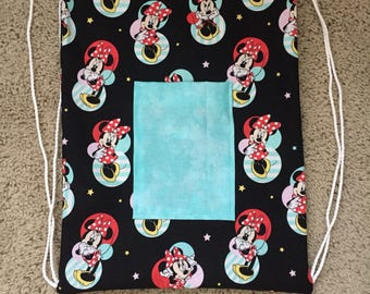 Minnie Mouse string backpack