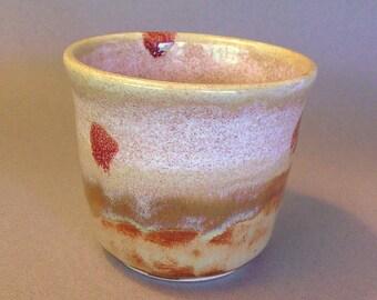 Stoneware coffee bowl, ceramic teabowl, yunomi