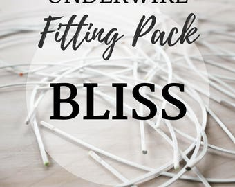 Bliss Underwire Fitting Pack! Three Pair of Underwire to Find your Perfect Fit!