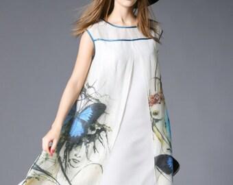 Butterfly Loose Dress