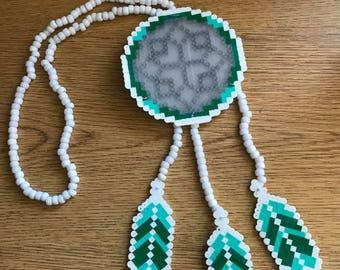 Dream Catcher Perler Necklace