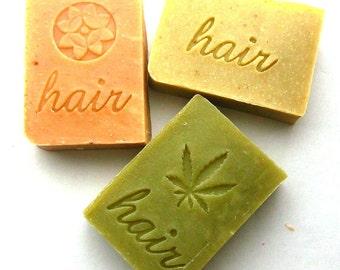 Shampoo Bar Set of 6 Your Choice - Shampoo Bars - Solid Shampoos - vegan  - shampoo soap - shampoo and conditioner
