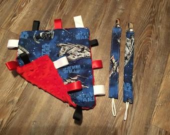 Star Wars lil blanket gift set