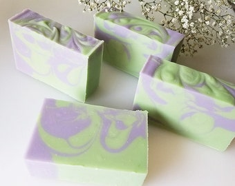 Lavender Rosemary Soap -- Essential Oils