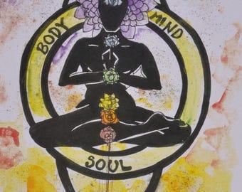 Body, Mind, Soul Print