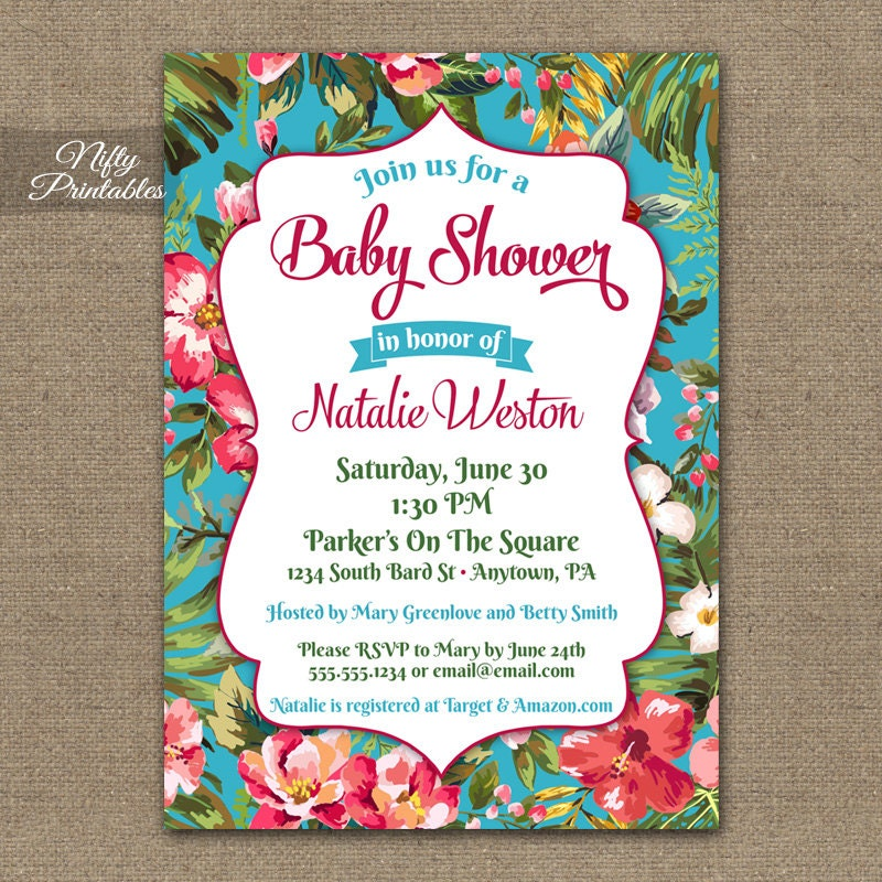 Tropical themed invitations gidiyedformapolitica tropical themed invitations filmwisefo Image collections