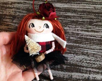 Christmas Girl Ornament