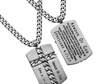 "Chain Cross ""Armour Of God"""