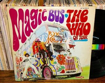 The Who Magic Bus Vintage Vinyl Record