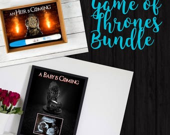 Game of Thrones Pregnancy Announcement Bundle - Instant Download