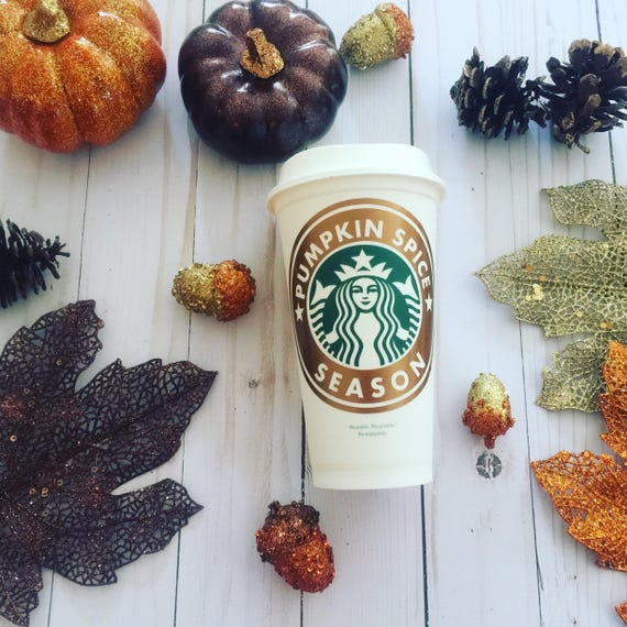 Pumpkin Spice coffee tumbler