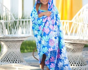 NEW ~Children's Hooded Beach Towel~Bouy Kids & Mer-Maizing Collection~Perfect for  Pool~Beach~Bath TimeGreat Gift Idea!