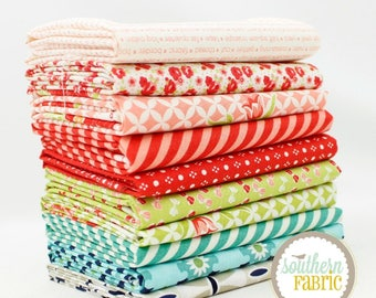 "Bonnie and Camille - Fat Quarter  Bundle - 10 - 18""x21"" Cuts - Bonnie and Camille - Moda Quilt Fabric"