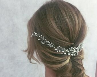Braut Haar Stück Kopfschmuck Hochzeit Kopfschmuck Braut Haar Rebe Braut Accessoires Perle Haar Stück Haarschmuck
