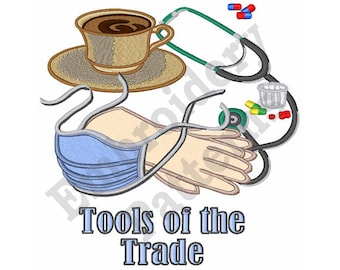 Tools Of The Trade - Machine Embroidery Design