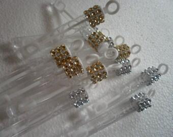 Wedding Bubbles, Rhinestone Wedding Favor, Rhinestone Bubbles, Party Bubbles, 150 bubbles