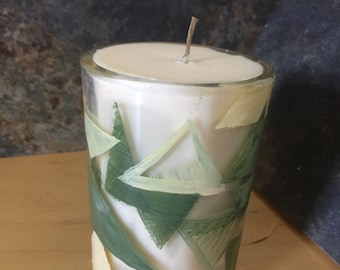 Modern Lily  Unisex Soy-Bee Treasure Candle