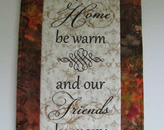 Happy Home Wall Hanging