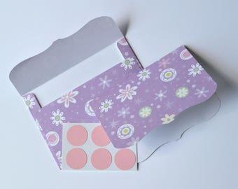 Purple Stationery Set - Envelopes, Writing Paper, and Seals - Lavender Stationery - Purple Envelopes - Lavender Envelopes - Envelope Seals