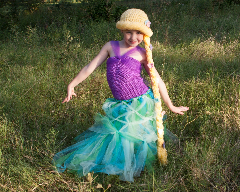 Rapunzel Crochet Pattern Tangled Child Adult Hat Baby