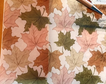 Changing Leaves: Vellum TN Covers/Dashboards
