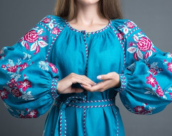 Dress embroidered Boho dress Embroidered dress Maxi dress Long maxi dresses Mexican dress Embroidered boho dress Holiday dress