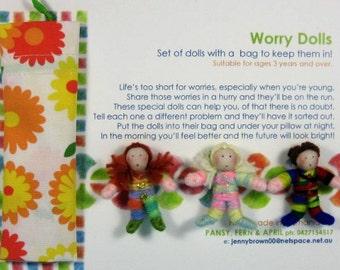 Worry Dolls Set