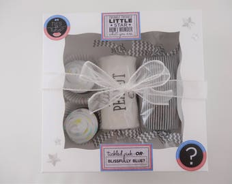 Neutral baby gift - gender neutral gift - 9 month - little peanut