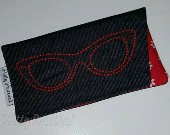 Custom made Sunglasses Sleeve Case