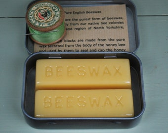 Pure English Beeswax blocks