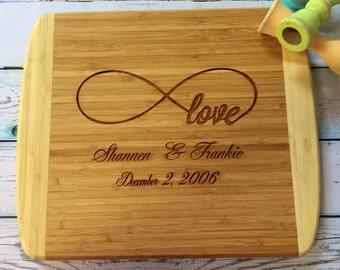 Personalized Cutting Board-Monogram Cutting Board-Housewarming Gift-Personalized