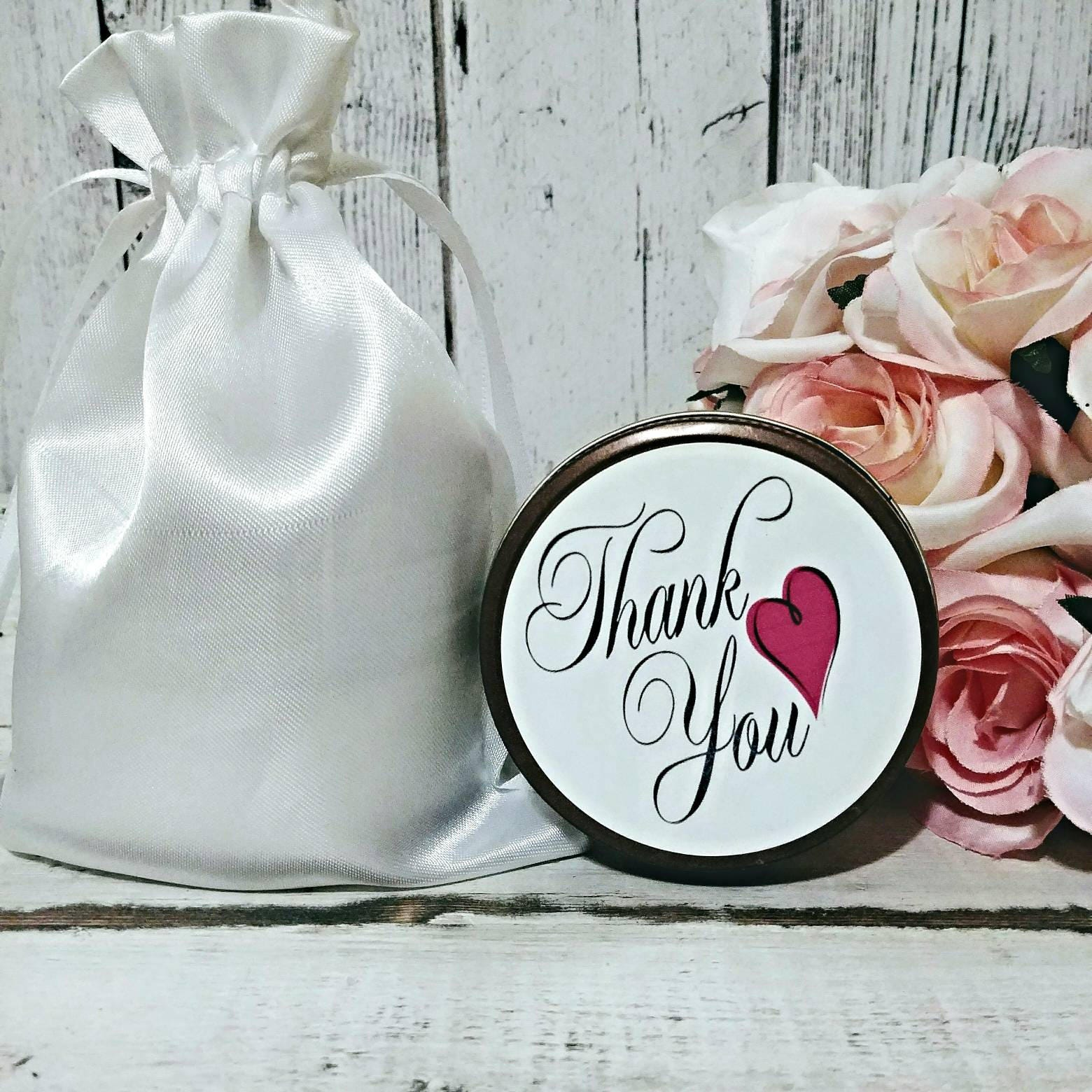 Soy Candles Scented Favors - Candle Favor - Thank You Candles - Mini ...