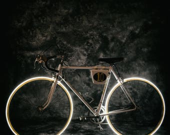 """Racing Bicycle """"PETER"""" bright years 70"""