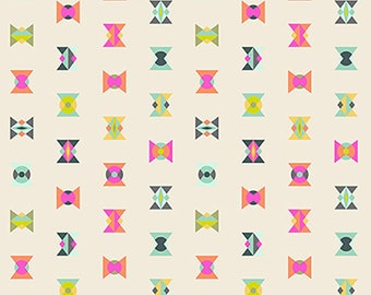 1/2 Yard - Spirit Animal - Arrowheads - Electic - Tula Pink - FreeSpirit - Fabric Yardage - PWTP043.ELECT